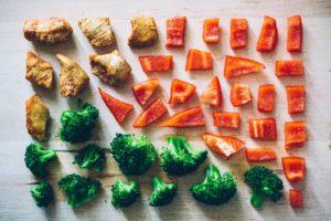 Proportions légumes