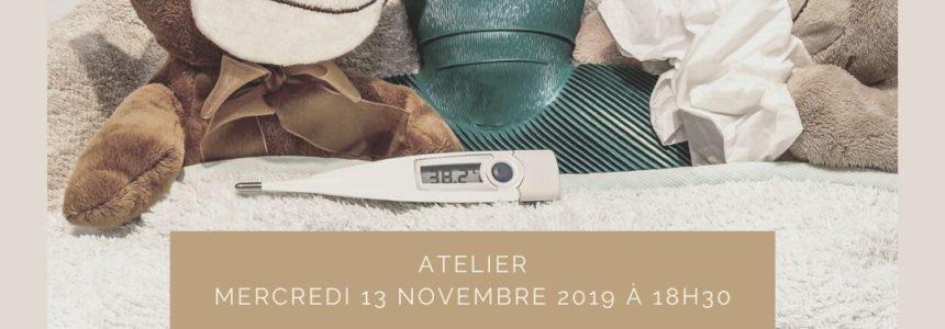 Atelier Naturopathie et maux de l'hiver mercredi 13 novembre à 18h30