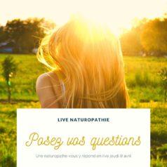 Posez-moi vos questions ! Facebook Live jeudi 9 avril