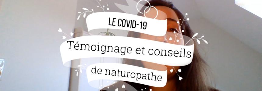 VIDEO : COVID-19 – Témoignage et conseils d'une naturopathe